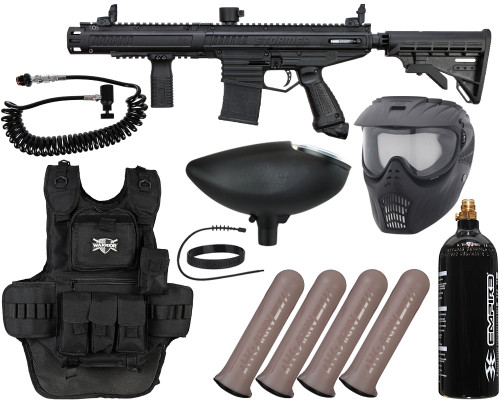 Tippmann Gun Package Kit - Stormer Elite Dual Fed - Heavy Gunner