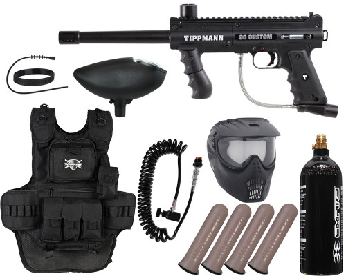 Tippmann Gun Package Kit - 98 Custom ACT Platinum Series - Heavy Gunner