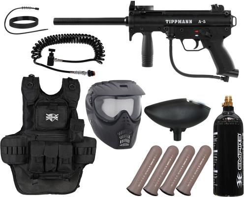 Tippmann Gun Package Kit - A5 RT - Heavy Gunner