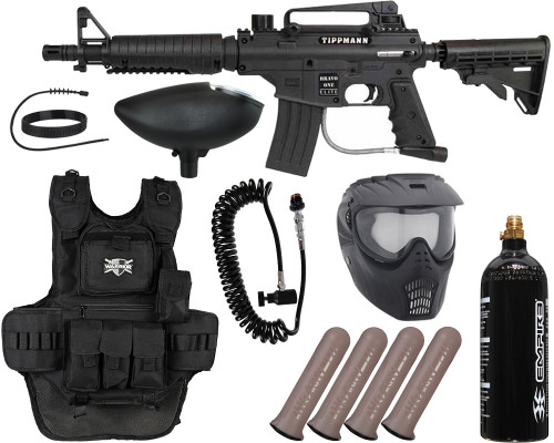 Tippmann Gun Package Kit - Bravo One Elite Tactical - Heavy Gunner