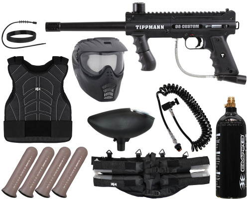 Tippmann Gun Package Kit - 98 Custom Platinum Series Ultra Basic  - Light Gunner