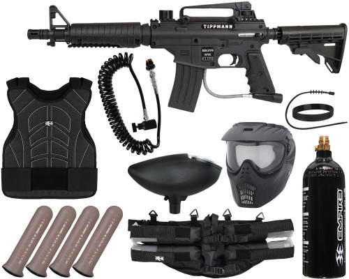 Tippmann Gun Package Kit - Bravo One Elite Tactical - Light Gunner
