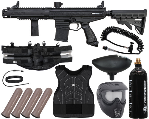 Tippmann Gun Package Kit - Stormer Elite Dual Fed - Light Gunner