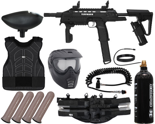 Tippmann Gun Package Kit - Tactical Compact (TCR) - Light Gunner