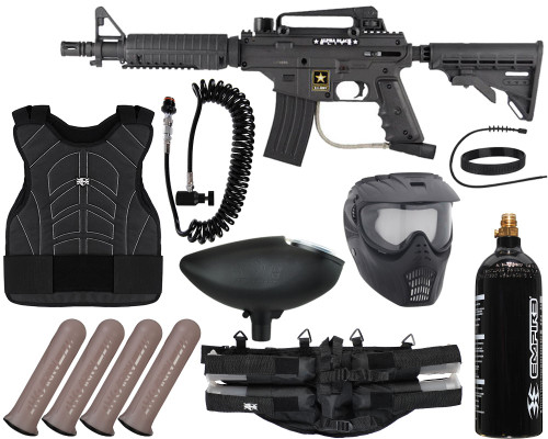 Tippmann Gun Package Kit - Alpha Black Elite Tactical - Light Gunner