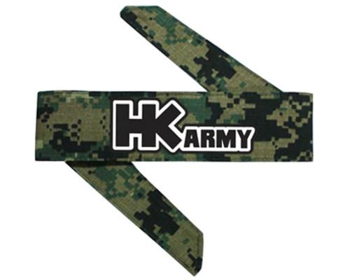 HK Army Head Tie Head Band & Head Wrap - Digital