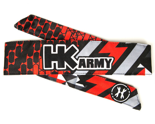 HK Army Head Tie Head Band & Head Wrap - Fire