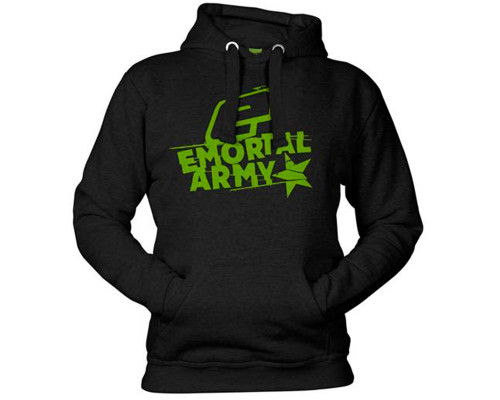 Planet Eclipse Hooded Pullover Sweatshirt - Emortal Army