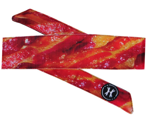 HK Army Head Tie Head Band - Bacon