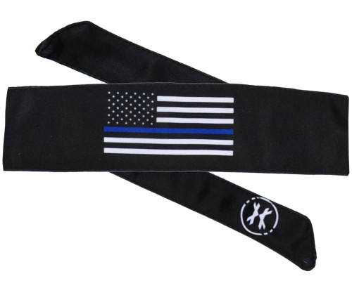 HK Army Head Tie Head Band - Blue Live Matter