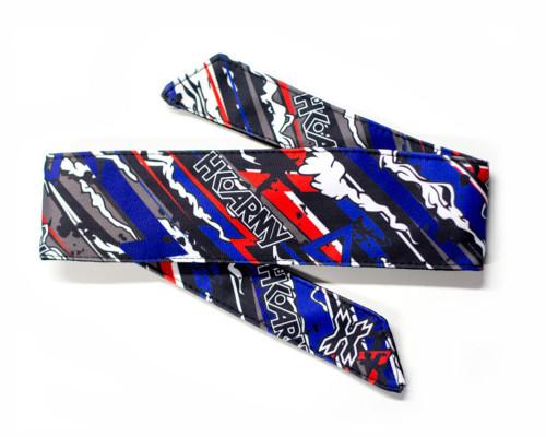 HK Army Head Tie Head Band & Head Wrap - Burn