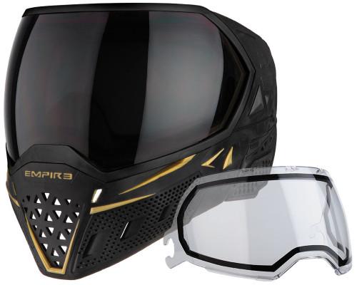 Empire Paintball Mask - EVS - Black/Gold