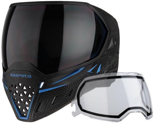 Empire Paintball Mask - EVS - Black/Navy Blue