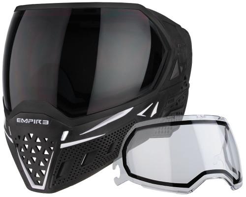 Empire Paintball Mask - EVS - Black/White