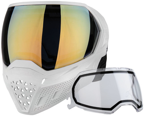 Empire Paintball Mask - EVS - White/White