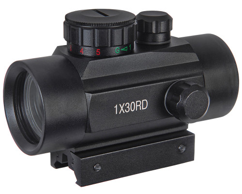 Warrior Gun Sight - Red Dot - Tactical 1x30MM
