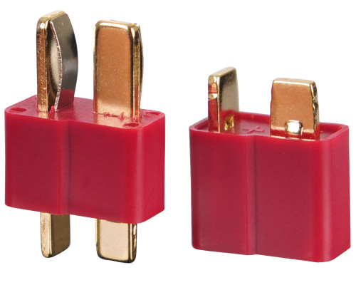 Tenergy Deans Battery Connector - 1 Set Male & Female