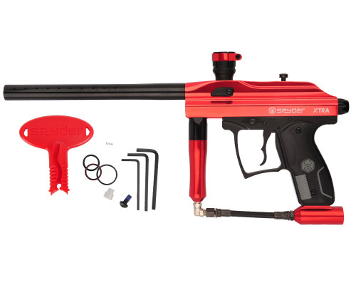Kingman Gun - Spyder Xtra - Gloss Red