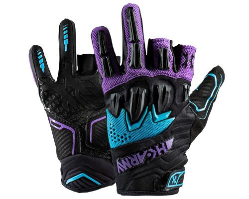HK Army Gloves - Hardline Armored Half Finger