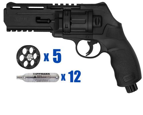 T4E Gun - TR50 Revolver .50 Caliber For Home Defense - Basic Kit 1
