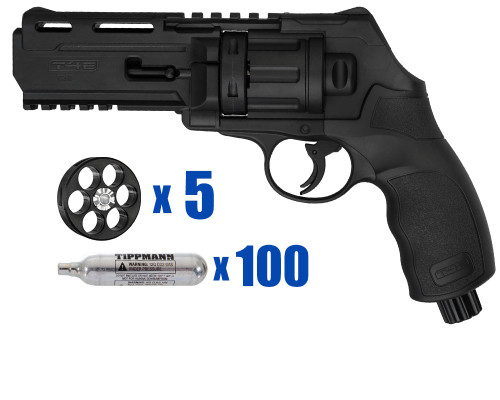 T4E Gun - TR50 Revolver .50 Caliber For Home Defense - Basic Kit 4
