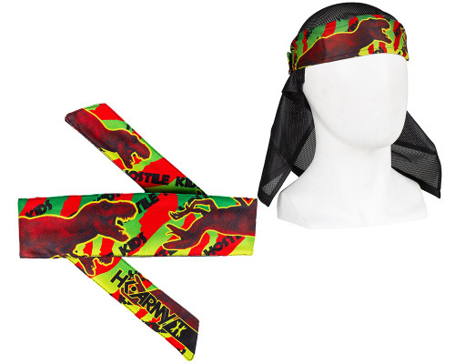 HK Army Head Tie Head Band & Head Wrap- Jurassic