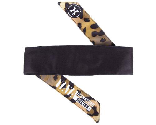 HK Army Head Tie Head Band - Leopard King Chad Bouchez