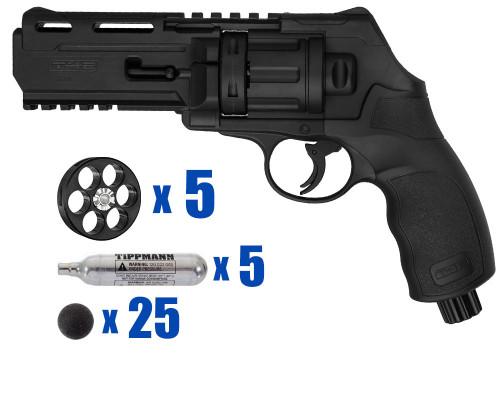 T4E Gun - TR50 Revolver .50 Caliber For Home Defense - Tactical Kit 1