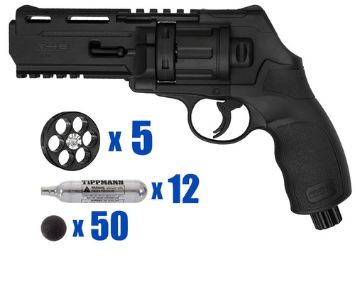 T4E Gun - TR50 Revolver .50 Caliber For Home Defense - Tactical Kit 2