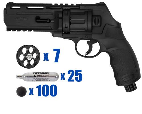 T4E Gun - TR50 Revolver .50 Caliber For Home Defense - Tactical Kit 3