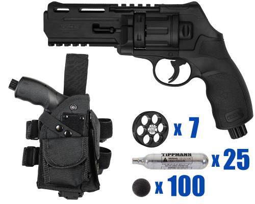 T4E Gun - TR50 Revolver .50 Caliber For Home Defense - Tactical Kit 4