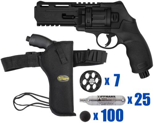 T4E Gun - TR50 Revolver .50 Caliber For Home Defense - Tactical Kit 5