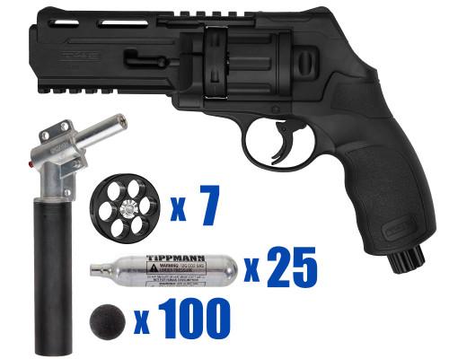 T4E Gun - TR50 11 Joule  Revolver .50 Caliber For Home Defense - Tactical Kit 3