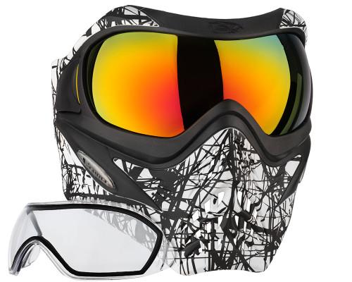 V-Force Mask - Grill - SE Webbing w/ Metamorph & Clear Lenses