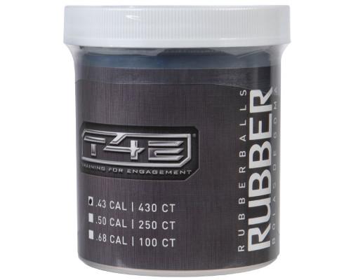 T4E .43 Caliber Balls - Rubber Training - 430 Rounds