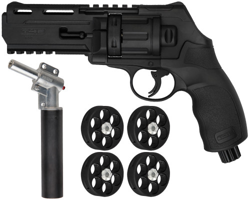 T4E Gun - TR50  Revolver .50 Cal w/ Additional 11 Joule Upgrade Valve