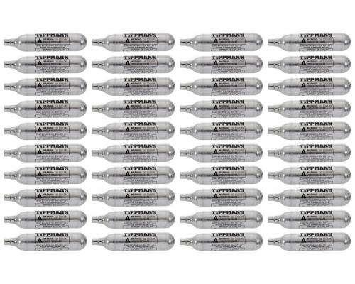 Tippmann CO2 Cartridge - 12 Gram - 40 Pack