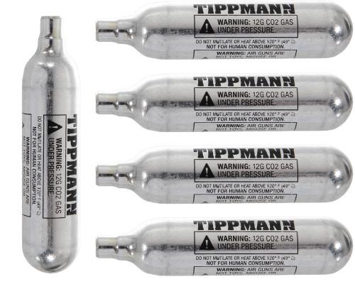 Tippmann CO2 Cartridge - 12 Gram - 5 Pack
