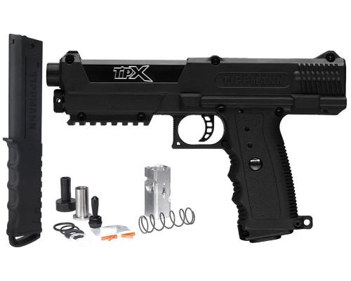 Tippmann Gun Kit - TiPX Pistol w/  Long Range Conversion Kit (FSR Compatible)
