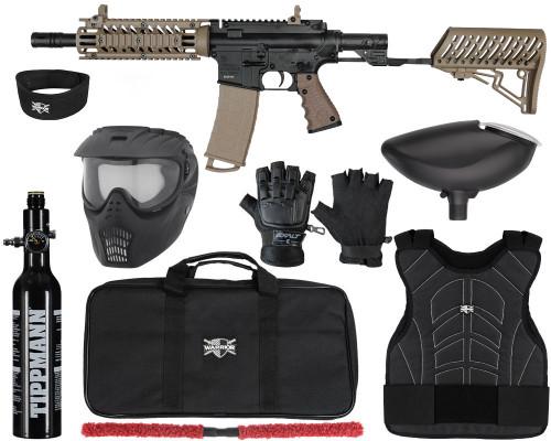 Tippmann Gun Kit - TMC w/ Air-Thru Stock - Level 1 Protector