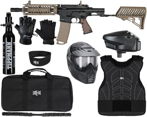 Tippmann Gun Kit - TMC w/ Air-Thru Stock - Level 3 Protector