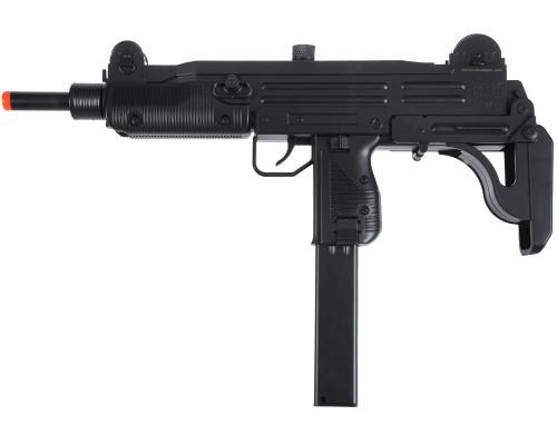 AEG Airsoft Gun - Uzi Carbine - Black