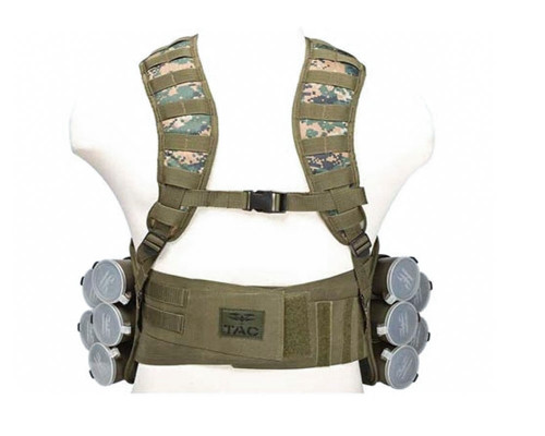 Valken V-TAC Bravo Paintball Tactical Vest - MARPAT