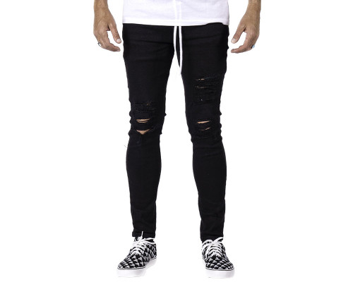 HK Army Thrasher Distressed Denim Slim-Skinny Jeans