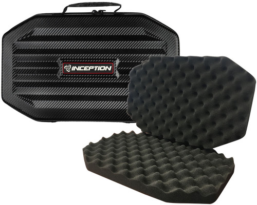 Inception Designs Large Carbon Fiber Protective Gun Case w/ Egg Crate Foam