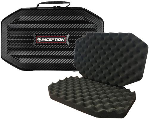 Inception Designs Large Carbon Fiber Protective Gun Case w/ Egg Crate Foam