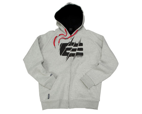 Empire Zip-Up Hooded Sweatshirt - TW Sweet