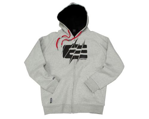 Empire Zip-Up Hooded Sweatshirt - TW Sweet