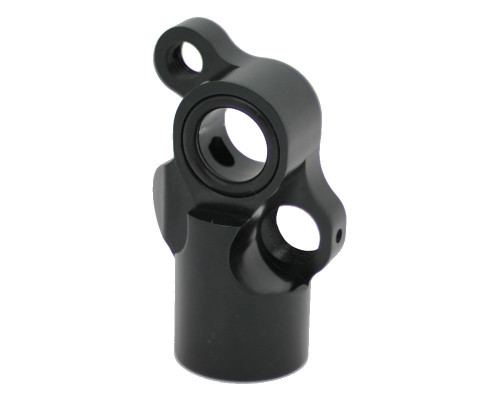 Inception Designs Autococker Mini Front Block w/ Vertical ASA - Dust Black
