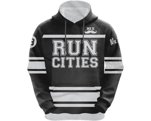 HK Army Hooded Pullover Sweatshirt - Run Cities